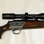Paired with a Swarovski  1.5-6 this rifle is a one gun solution to an African Safari.