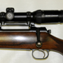 This couple of Germans mean business. The scope was installed using Mauser's proprietary detachable bases.