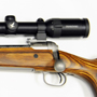 Paired with a Swarovski  5-30X50 this rifle has delivered several one-hole three-shot groups!