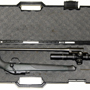 This picture shows how the R8 Professional easily disassembles and fits in a small case. This barrel is a 308 Winchester and the scope a Leupold Mark 8 1.1-8x24mm CQBSS Front Focal.