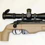 Sako TR-22 in 308 Winchester with a Schmidt and Bender PMII 5-25x56 P4FNP-2DD and Badger Ordnance rings.