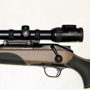 A great all-game traveling rifle: Blaser R8 Professional Savannah in 270 Weatherby Magnum with the top of the line Swarovski 2nd Generation Z6i 3-18x50 with the illuminated BRH reticle.