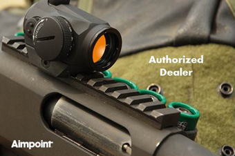 Authorized dealer of Aimpoint.