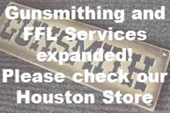 See our expanded list of gunsmithing and FFL services on the Houston store page.