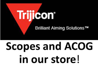 Trijicon scopes and ACOG in our store!