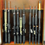 New black rifles cabinet.